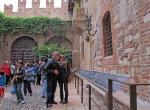 ITALIA 3. (VERONA) EN LA CASA DE JULIETA DONDE ROMEO LA CORTEJABA