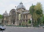RUMANIA 45. (BUCAREST) EL PALACIO CEC CONSTRUIDO EN 1900 DEL ARQUITECTO FRANCES PAUL GUTTERAU