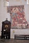 GEORGIA 128. (IGLESIA DE ANANURI) FRESCOS DE LA PRIMERA MITAD DEL SIGLO XVII ALGUNOS HAN SIDO DESTRUIDOS EN UN INCENDIO