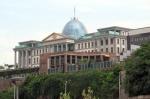 GEORGIA 57. (TIFLIS) EL PALACIO PRESIDENCIAL, ES LA CAPITAL DE GEORGIA TIENE 1.345.000 HABITANTES