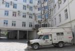 RUSIA 1° ENTRADA 12. (ASTRACAN) NUESTRO HOTEL DETRAS, EL PROMEDIO DE TEMPERATURA ES EN ENERO DE -9 °C Y EN JULIO DE 39° C