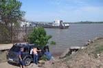 RUSIA 1° ENTRADA 26. (ASTRACAN-RIO VOLGA) LOS RUSOS CON SU SENTIDO PRACTICO LE HAN BUSCADO OTRAS UTILIDADES