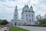 RUSIA 1° ENTRADA 33. (ASTRACAN-EL KREMLIN) LA CATEDRAL DE LA ASUNCION ES CONSIDERADA COMO UNA DE LAS MEJORES PIEZAS DE LA ARQUITECTURA DE LA IGLESIA RUSA DEL SIGLO XVIII