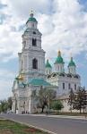 RUSIA 1° ENTRADA 35. (ASTRACAN-EL KREMLIN) CAMPANARIO DE LA CATEDRAL TIENE 80 M DE ALTURA