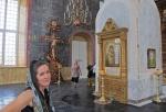 RUSIA 1° ENTRADA 38. (ASTRACAN-EL KREMLIN) INTERIOR DE LA CATEDRAL DE LA ASUNCION 3