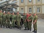 RUSIA 1° ENTRADA 41. (ASTRACAN) HACIENDO AMISTADES CON EL EJERCITO RUSO POR SI ACASO