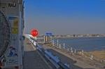 KAZAQUISTAN 1° ENTRADA 1. (LA FRONTERA POR KOTYAYEVKA) DE PASO DEL RIO KIGACH AL FONDO LA FRONTERA