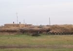 KAZAQUISTAN 1° ENTRADA 20. (EN RUTA A ATYRAOU) DESPUES DE LA FRONTERA LOS PRIMEROS POBLADOS
