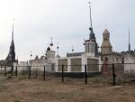 KAZAQUISTAN 1° ENTRADA 28. (EN RUTA A ATYRAOU) CEMENTERIOS 4