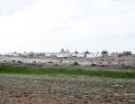 KAZAQUISTAN 1° ENTRADA 30. (EN RUTA A ATYRAOU) CEMENTERIOS 6