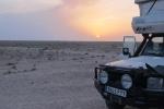KAZAQUISTAN 1° ENTRADA 36. (EN RUTA A ATYRAOU) UN TRANQUILO Y SOLITARIO SITIO EN LA ESTEPA DONDE ACAMPAR POR LA NOCHE