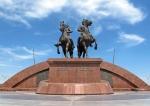 KAZAQUISTAN 1° ENTRADA 41. (ATYRAOU) MAKHAMBET OTEMISULY 1804 A 1846 Y ISATAY TAYMANULY 1791 A 1838 , AMBOS HÉROES KAZAJOS QUE LUCHARON CONTRA EL COLONIALISMO RUSO