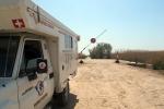 KAZAQUISTAN 1° ENTRADA 51. (MAR CASPIO) PASAMOS UN DURO CONTROL MILITAR PARA CONSEGIR ENTRAR
