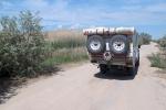 KAZAQUISTAN 1° ENTRADA 52. (MAR CASPIO) PRONTO SE ACABAN LAS CARRETERAS Y EMPIEZA UN LABERINTO DE PISTAS