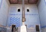 UZBEKISTAN 107 ( KHIVA MONUMENTAL) PALACIO DE TASH-KHAULI, ES UNO DE LOS MEJORES EJEMPLOS DE LA ARQUITECTURA CIVIL DE ASIA CENTRAL DEL SIGLO XIX