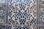 UZBEKISTAN 118 ( KHIVA MONUMENTAL) PALACIO DE TASH-KHAULI, CADA AZULEJO ESTABA NUMERADO EN EL MOMENTO DE LA FABRICACION, PARA QUE COINCIDIESE EL DIBUJO EN EL MOMENTO DEL POSICIONAMIENTO EN LA PARED