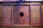 UZBEKISTAN 121 ( KHIVA MONUMENTAL) PALACIO DE TASH-KHAULI, TECHOS EN MADERA POLICROMADOS 3