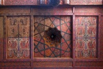 UZBEKISTAN 123 ( KHIVA MONUMENTAL) PALACIO DE TASH-KHAULI, TECHOS EN MADERA POLICROMADOS 5