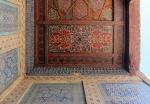 UZBEKISTAN 125 ( KHIVA MONUMENTAL) PALACIO DE TASH-KHAULI, TECHOS EN MADERA POLICROMADOS 6