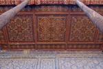 UZBEKISTAN 127 ( KHIVA MONUMENTAL) PALACIO DE TASH-KHAULI,TECHOS EN MADERA POLICROMADOS 7