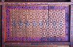 UZBEKISTAN 128 ( KHIVA MONUMENTAL) PALACIO DE TASH-KHAULI, TECHOS EN MADERA POLICROMADOS 8