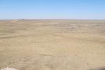 UZBEKISTAN 62 (SHILPIQ) PANORAMA DESDE EL MONUMENTO DEL DESERTICO LLANO DEL QUM QIZIL, EN EL LADO OPUESTO DEL VALLE DEL AMU DARYA