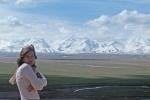 KIRGUISTAN 72 (PAMIR, HACIA LA FRONTERA CHINA) AL ESTE HACE MAS FRIO QUE AL OESTE DE SARY TACH