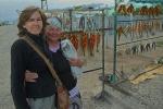 KIRGUISTAN 218 (EL LAGO ISSYK KUL) LA CIUDAD DE BALYKCHY, PESCADO AHUMADO...