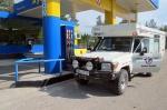 KAZAQUISTAN -2° ENTRADA 63 (AL NORTE DE SEMEY) DORMIMOS Y CARGAMOS DE COMBUSTIBLE EN DMITRIEVKA, UNA PEQUENA POBLACION ANTES DE LA FRONTERA CON RUSIA
