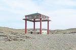 MONGOLIA 65 (SALIENDO DE KHOVD) MONUMENTO FUNERARIO