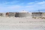 MONGOLIA 79 (POR LA ESTEPA) DE LAS POCAS CONSTRUCIONES SOLIDAS QUE HEMOS VISTO POR LA ZONA