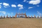 MONGOLIA 141 (HACIA ARVAYHEER) MEMORIAL DEDICADO A LOS CABALLOS DE CARRERAS MONGOLES