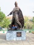 MONGOLIA 154 (ARVAYHEER) MONUMENTO A LOS HEROES MONGOLES DE LA GUERRA MUNDIAL, CONTRA LOS JAPONESES
