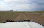 MONGOLIA 177 (GOBI-HACIA GUCHIN US) LA PISTA VIENE MAS AGRADABLE