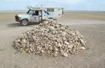 MONGOLIA 179 (GOBI-HACIA GUCHIN US) UN OBOO EN MEDIO DE LA NADA…