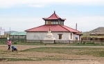 MONGOLIA 287 (HACIA UVURKHUSHUUT) EL TEMPLO BUDISTA DE BURG SUM