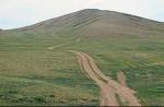 MONGOLIA 290 (HACIA UVURKHUSHUUT) SUBIENDO POR EL LADO SUR DE LA MONTAÑA ONGON