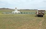 MONGOLIA 292 (UVURKHUSHUUT) HEMOS LLEGADO AL CENTRO GEOGRAFICO DE MONGOLIA