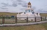 MONGOLIA 294 (HACIA UVURKHUSHUUT) ESTE ES UN LUGAR DE PEREGRINAJE PARA LOS MONGOLES