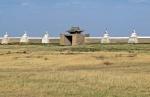 MONGOLIA 307 (KARAKORUM-EL MONASTERIO DE ERDENE ZUU) ENTRADA NORTE, EN EL RECINTO LLEGARON A INSTALAR 300 YURTAS EN LAS QUE VIVIAN MAS DE 1.000 MONJES