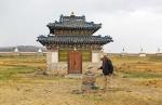 MONGOLIA 311 (KARAKORUM-EL MONASTERIO DE ERDENE ZUU) EL TEMPLO AZUL, CONSTRUIDO POR ORDEN DE AVTAI SAIN KHAN KING EN 1585