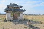 MONGOLIA 312 (KARAKORUM-EL MONASTERIO DE ERDENE ZUU) EL TEMPLO AZUL, CONSTRUIDO EN HONOR DEL TERCER DALAI LAMA, TAMBIEN LLAMADO EL TEMPLO DEL VIEJO HOMBRE