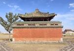 MONGOLIA 314 (KARAKORUM-EL MONASTERIO DE ERDENE ZUU) PARTE TRASERA DEL TEMPLO DEL DALAI LAMA