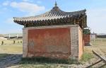 MONGOLIA 317 (KARAKORUM-EL MONASTERIO DE ERDENE ZUU) TEMPLO DEL DALAI LAMA. DETALLE DEL HABITACULO DE LA IZQUIERDA
