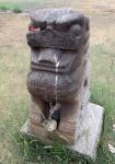 MONGOLIA 344 (KARAKORUM-EL MONASTERIO DE ERDENE ZUU) LEON PROTECTOR QUE SE SUELE COLOCAR A LA ENTRADA DE LOS TEMPLOS