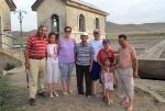 MONGOLIA 359 (KARAKORUM) UNA FAMILIA MONGOL, LA SEÑORA HABLABA PERFECTAMENTE EL CASTELLANO, Y LO MAS INCREIBLE ES QUE JAMAS SALIO DE MONGOLIA