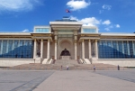 MONGOLIA 418 (EL CENTRO DE ULAN BATOR) EL PALACIO DE GOBIERNO CONSTRUIDO EN 1951