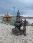 MONGOLIA 437 (HACIA EL NORTE) UN PEQUEÑO TEMPLO EN NUESTRO CAMINO, UN INCENSARIO