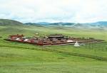 MONGOLIA 457 (EL MONASTERIO DE AMARBAYASGALANT) SE ENCUENTRA EN EL VALLE DE IVEN CERCA DEL RÍO SELENGE , A LOS PIES DEL MONTE BUREN - KAN, LA CIUDAD MAS CERCANA ES ERDENET A 60 KM.