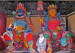 MONGOLIA 464 (EL MONASTERIO DE AMARBAYASGALANT)… SON PERSONAJES PROTECTORES...